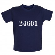 24601 Prison Number Baby T Shirt