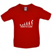 Born To Climb (Rock Climb) Kids T Shirt