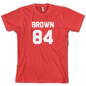 Brown 84 T Shirt