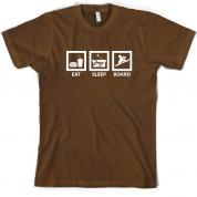 Eat Sleep Snowboarding T Shirt