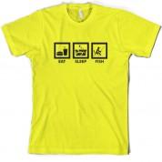 Eat Sleep Fish T Shirt