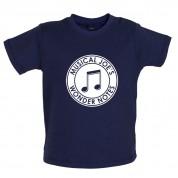 Musical Joe's Wonder Notes Baby T Shirt