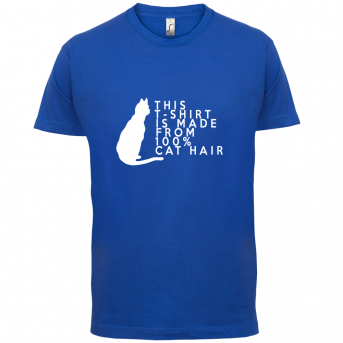 Cat hair t-shirt