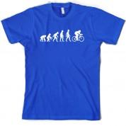 Evolution of Man Cycling T Shirt