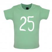 Paint Brush 25 Baby T Shirt