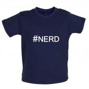 #Nerd (Hashtag) Baby T Shirt