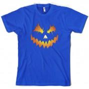Halloween Pumpkin Face T Shirt