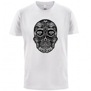 Day of the dead skull t-shirt