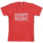 Don't Panic T Shirt