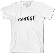 Evolution of Man Archery T shirt