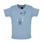 2nd Birthday Elephant Baby T Shirt