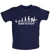 Born to Fight Baby Judo T Shirt
