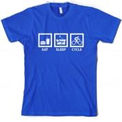 Eat Sleep Cycle T Shirt