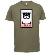 Believe-Obey T Shirt