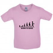 Born To Bake Kids T Shirt