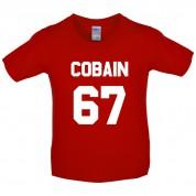 Cobain 67 Kids T Shirt
