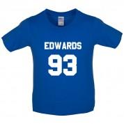 Edwards 93 Kids T Shirt