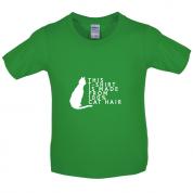 100% Made From Cat Hair Kids T Shirt