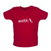 Evolution Of Man Painter Baby T Shirt