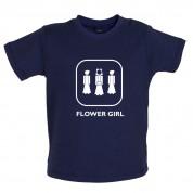 Flower Girl Baby T Shirt