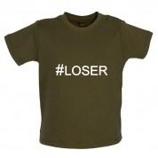 #Loser (Hashtag) Baby T Shirt