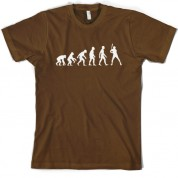 Evolution of Man Baseball T Shirt