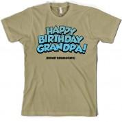 Happy Birthday Grandpa! (Do Not Resuscitate!) T Shirt
