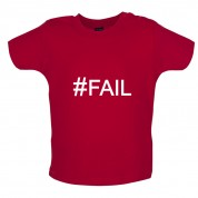 #Fail (Hashtag) Baby T Shirt