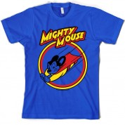 Mighty Mouse circle T Shirt
