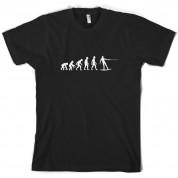 Evolution of Man Wakeboard T Shirt